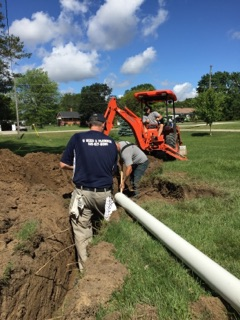 Plumbing and Sewer Line Installation image 8